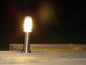 Pose de lumières extérieures à Mesnil Esnard